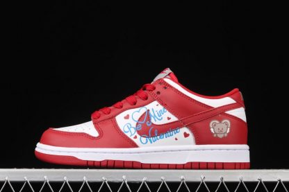Nike SB Dunk Low Valentines Day Red White