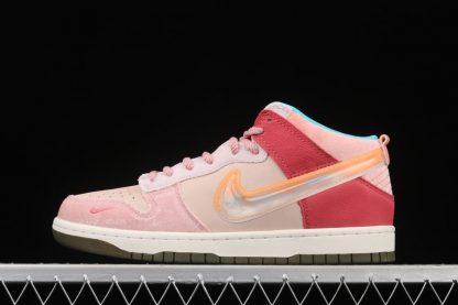 Social Status x Nike Dunk Low Light Soft Pink Coconut Milk-Pink Glaze