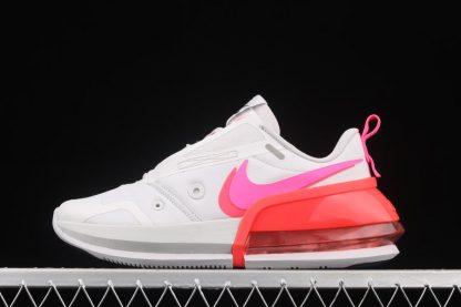 Womens-exclusive Nike Air Max Up Vast Grey Pink Blast-Flash Crimson