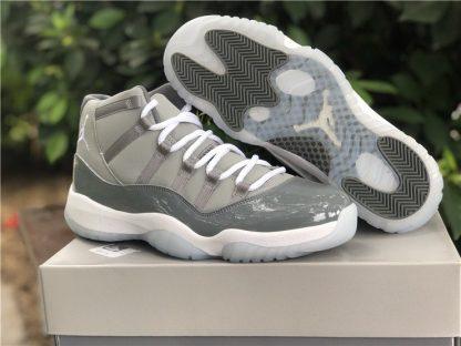 2021 New Air Jordan 11 XI Medium Grey White-Cool Grey
