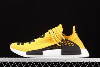 BB0619 Pharrell x adidas NMD Human Race Yellow Black On Sale