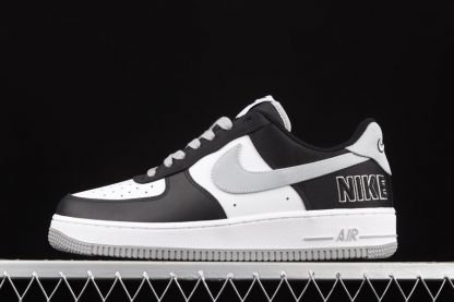 CT2301-001 Nike Air Force 1 Low EMB Raiders Black Fat Silver-White