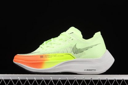 CU4111-700 Nike ZoomX VaporFly NEXT 2 Neon Gradients Running Shoes