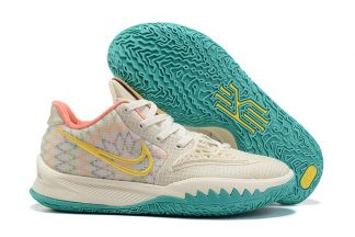 CW3985-005 Nike Kyrie Low 4 N7 Natural Yellow Teal