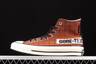 Converse Chuck Taylor 70 Hi Gore-Tex Bark Egret Black