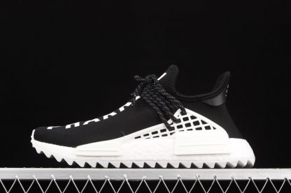 D97921 Pharrell x adidas NMD Hu Race Trail Black White