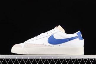 DA6364-103 Nike Blazer Low White Hyper Royal On Sale