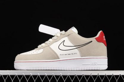 DB3597-100 Nike Air Force 1 Low First Use Light Stone On Sale
