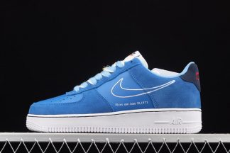 DB3597-400 Nike Air Force 1 Low First Use University Blue