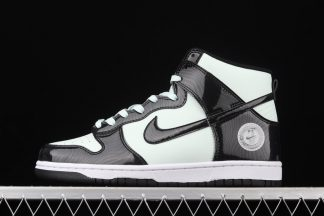 DD1398-300 Nike Dunk High All-Star Barely Green Black