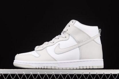 DD1399-100 Nike Dunk High Retro Vast Grey White On Sale