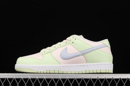 DD1503-600 Nike Dunk Low Light Soft Pink Ghost-Lime Ice-White