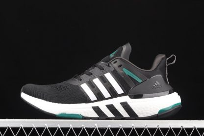 H02759 adidas Equipment Plus Black White Green Outlet
