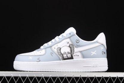 Kaws x Nike Air Force 1 Low Grey White On Sale