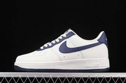 New Nike Air Force 1 Low White Dark Blue To Buy