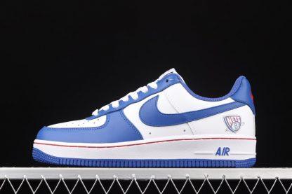Nike Air Force 1 Low Brooklyn Nets White Blue