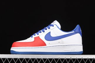 Nike Air Force 1 Low White Blue Red Outlet