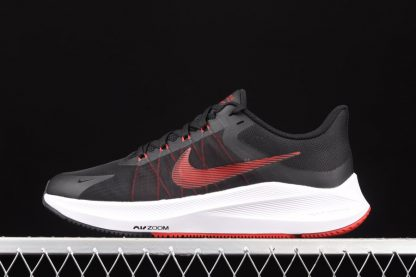 Nike Winflo 8 Black White Red Running Shoes To Buy