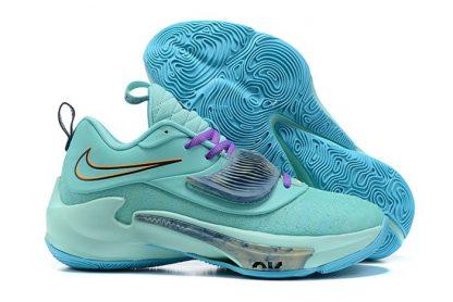 Nike Zoom Freak 3 Aqua Dynamic Turquoise Midnight Navy