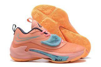 Nike Zoom Freak 3 Orange Teal DA0695-600 New Sale