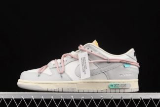 Off-White x Nike Dunk Low Lot 09 of 50 Sail Neutral Grey Outlet