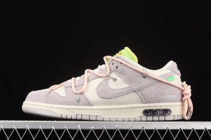 Off-White x Nike Dunk Low Lot 12 of 50 Sail Pink Outlet