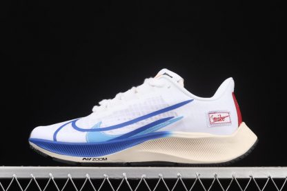 Air Zoom Pegasus 37 White Game Royal Outlet scarpe running in Nike economiche