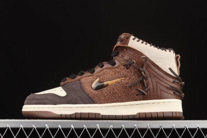 CZ8125-200 Bodega x Nike Dunk High Legend Brown For Sale