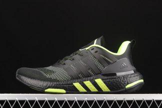 Chaussure H02756 adidas Equipment+ Black Yellow pas cher
