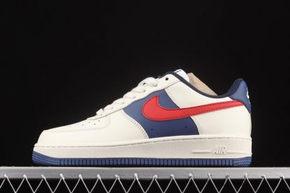 Chaussure Nike Air Force 1 Low White Obsidian Red Pas Cher