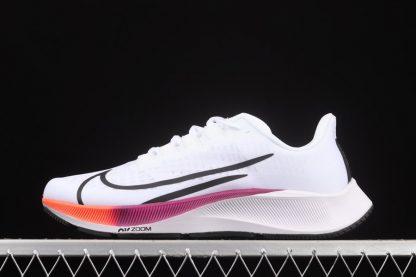Chaussure Nike Air Zoom Pegasus 37 White Black Hyper Violet pas cher
