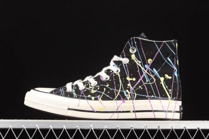 Converse Chuck Taylor All-Star 70 Hi Paint Splatter Black