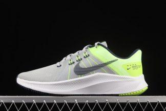 DA1105-003 Nike Quest 4 Dust Volt White Navy Men Running Sports Shoes