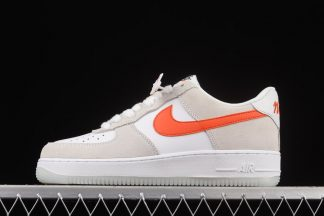 DA8302-101 Nike Air Force 1 Low First Use Sail Orange Outlet