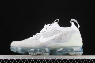 DC4112-100 Nike Air VaporMax Flyknit 2021 White Pure Platinum To Buy