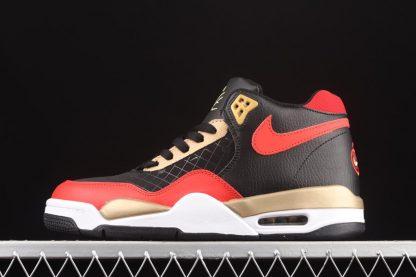 DD8493-091 Nike Flight Legacy Black Red Gold To Buy