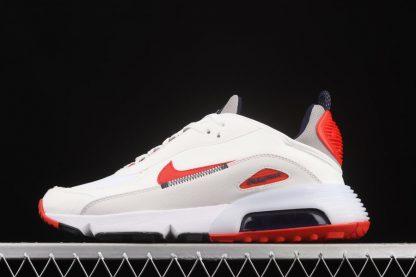 DH7708-100 Nike Air Max 2090 White Red Schuhe online bestellen