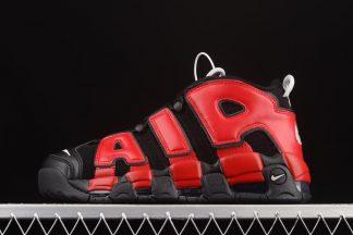 DM0017-001 Nike Air More Uptempo Split Black Navy Red On Sale