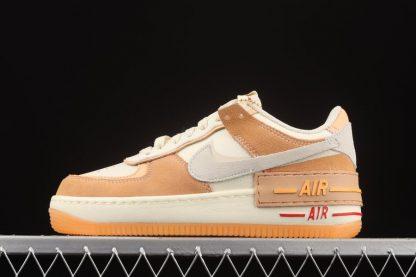 DM8157-700 Nike WMNS Air Force 1 Shadow Sisterhood Cashmere Orange To Buy