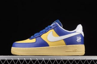DM8462-400 Undefeated x Nike Air Force 1 Low 5 On It Blue Yellow