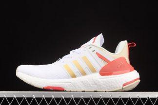 H02754 adidas Equipment Footwear White Copper Metallic-Aluminum