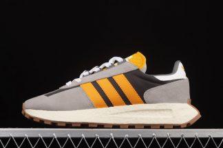 H03077 adidas Retrophy E5 Grey Orange Schuhe online bestellen