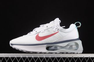 Nike Air Max 2021 White Red Navy Trainers