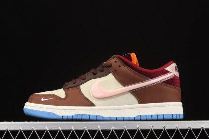 Social Status x Nike Dunk Low Burnt Brown billigt online