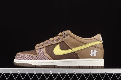 UNDEFEATED x Nike Dunk Low Canteen Lemon Frost DH3061-200 Sale