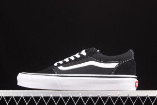Vans Ward Suede Canvas Black White Schuhe günstig online kaufen