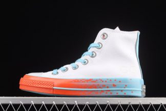 White Converse Chuck 70 Gaming Pack Color-pop Outsoles