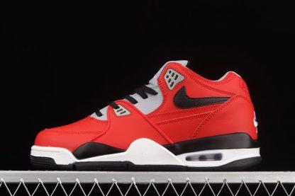 CN5668-600 Nike Air Flight 89 University Red Black-Wolf Grey-White