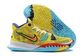 CQ9326-700 Nike Kyrie 7 1 World 1 People Yellow Strike On Sale