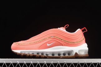 DC4012-800 Nike WMNS Air Max 97 Cork Vibrant Coral On Sale